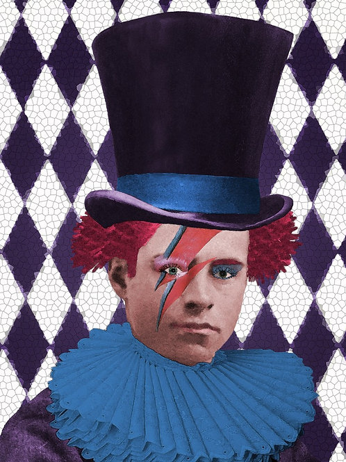 The Mad Hatter a la Ziggy Stardust