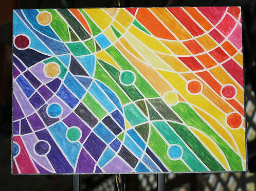 Weave a Rainbow original