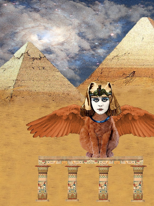 Egyptian Sphinx and the Enigma of Silent Film Star Theda Bara