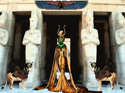 Ancient Egypt and the Crocodile Pharaoh Queen
