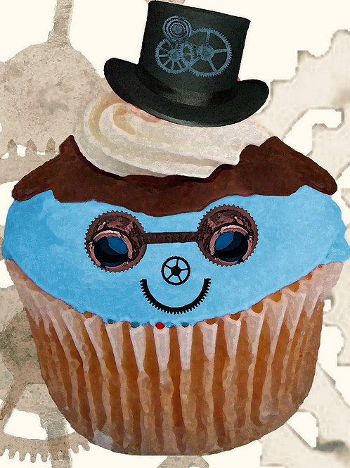Steampunk Cupcake