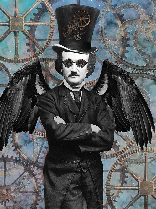 Steampunk Edgar Allan Poe