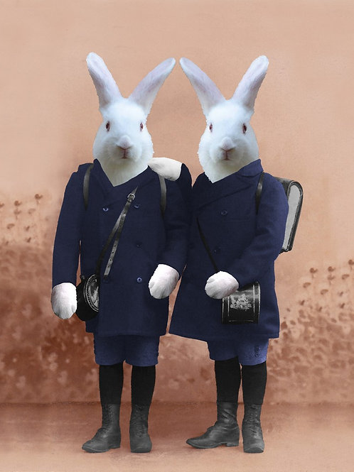 White Rabbit Brothers from Photograph