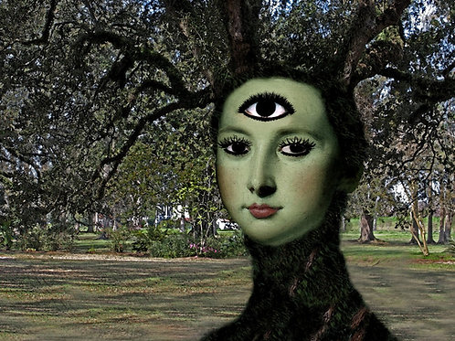 Mother Nature Tree Goddess Third Eye Opens
