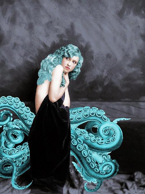 Ziegfeld Dancer as Octopus Mermaid