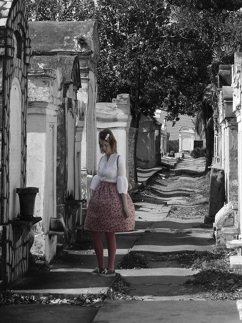Dream Ghost Girl haunts the Spirit World Cemetery of New Orleans