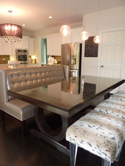 Custom Banquette & Benches
