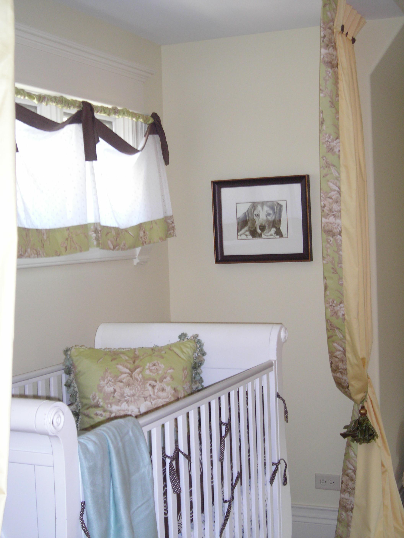 Baby's Room Drapery