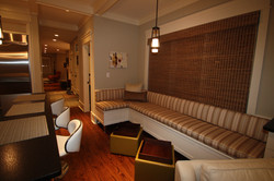 Built-In Lounging Banquette