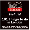 Featured in Time Out Lonon's 101 top things to do in London