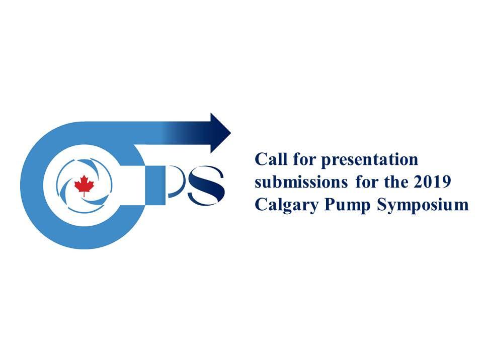 2019 Calgary Pump Symposium - Call for Presentations