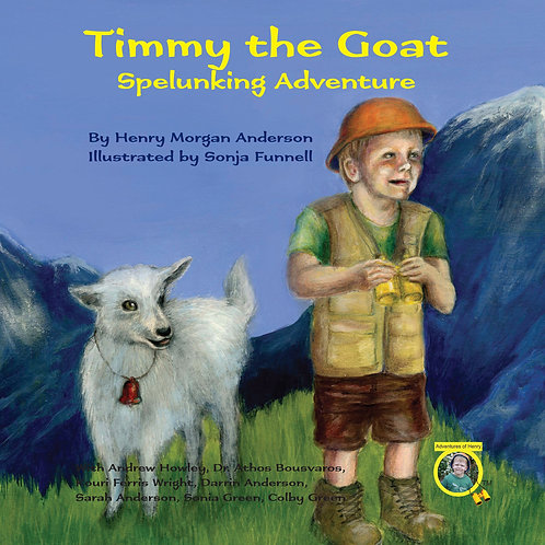 Timmy the Goat - fuly illustrated hardcover children's book