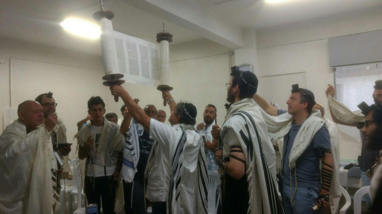 Un office au Beth Habad