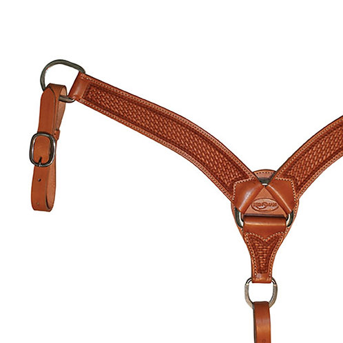 6949D Basketweave Breast Collar