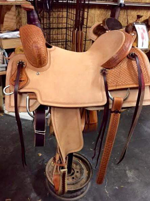 Van Hargis Ranch Versatility Saddle