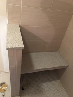 Custom Quartz Shower