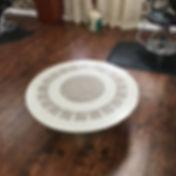 Nitelite Game Table quartz recyced glass furniture made in the USA