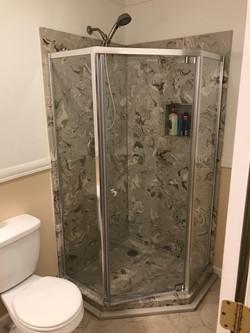Quartz shower