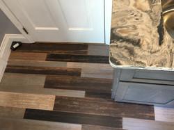 Quartz Color made to match floor