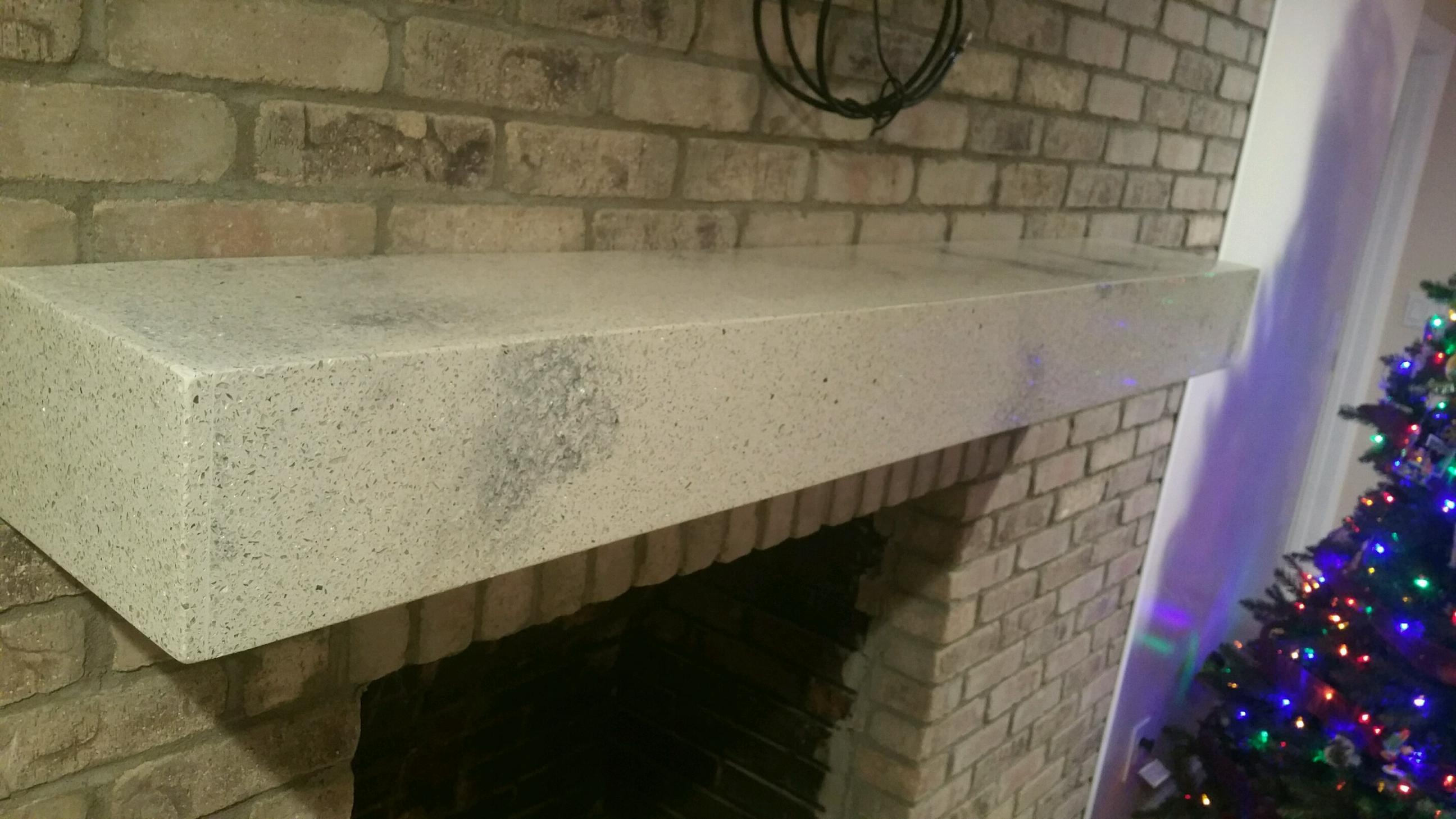 Quartz Custom Fireplace