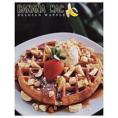 My Cafe Banana Mac Nut Waffle