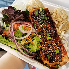 Grilled Furikake Salmon