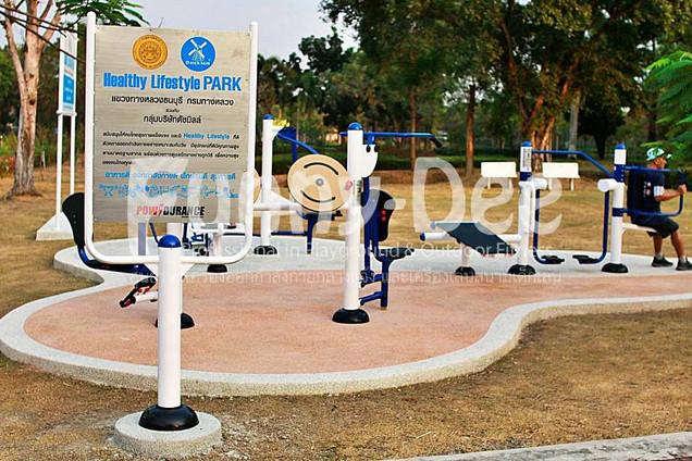 เครื่องออกกำลังกายกลางแจ้ง-จัดตั้งที่สวนเฉลิมพระเกียรติสมเด็จย่า-funnydee-09