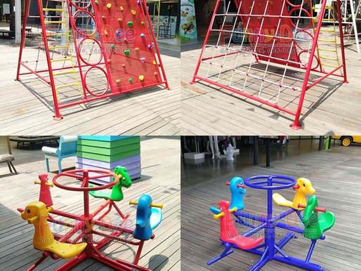 ผลงานการผลิตอุปกรณ์สนามเด็กเล่น ติดตั้งที่เดอะ บริโอ้ มอลล์ พุทธมณฑลสาย 4