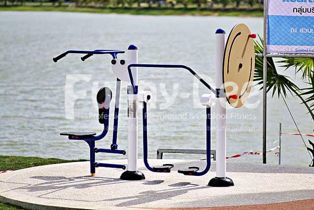 เครื่องออกกำลังกายกลางแจ้ง-จัดตั้งที่สวนน้ำบุ่งตาหลั่วเฉลิมพระเกียรติรัชกาลที่ ๙-funnydee-44