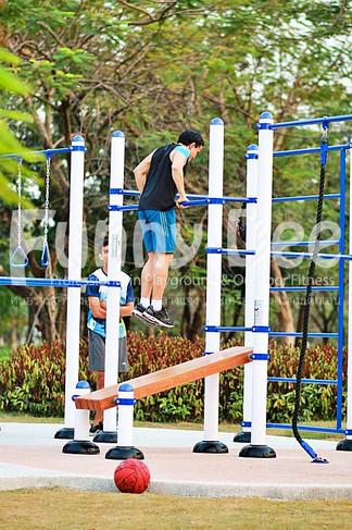 เครื่องออกกำลังกายกลางแจ้ง-จัดตั้งที่สวนเฉลิมพระเกียรติสมเด็จย่า-funnydee-38