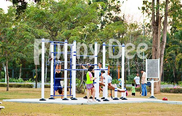 เครื่องออกกำลังกายกลางแจ้ง-จัดตั้งที่สวนเฉลิมพระเกียรติสมเด็จย่า-funnydee-41
