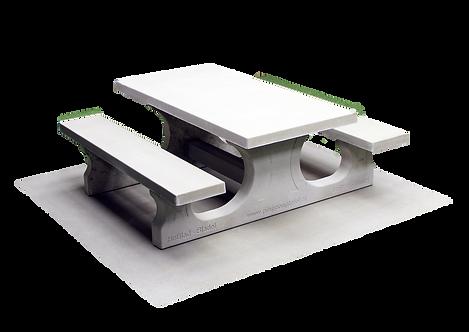 Ensemble pique-nique Standard en béton (prix TTC)
