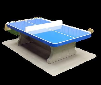 Table de tennis de table en béton angles arrondis (prix TTC)