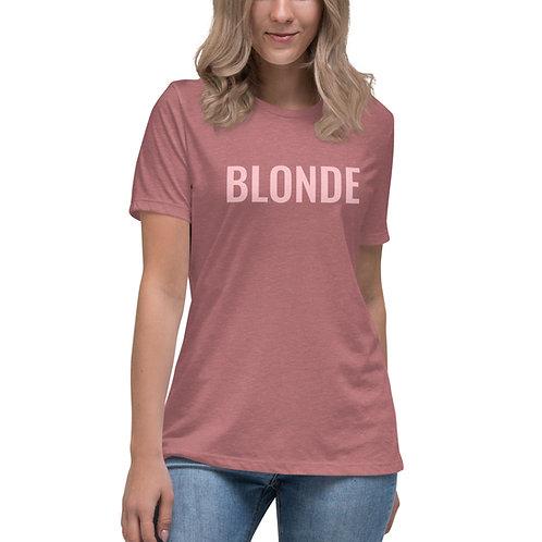 Blonde Bomb's Women's Relaxed T-Shirt