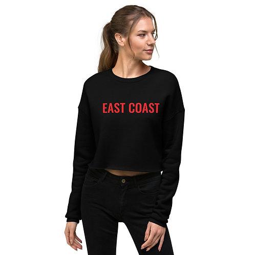 East Coast Crop Crew Sweatshirt