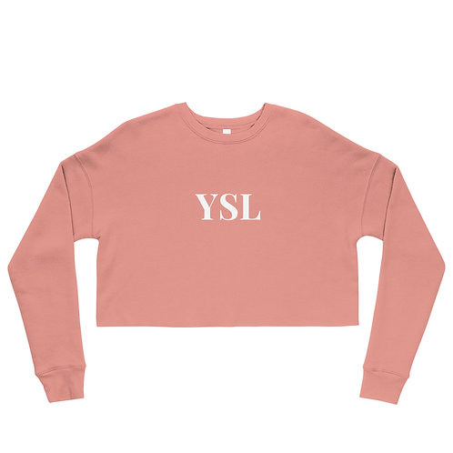 Crop YSL Sweatshirt
