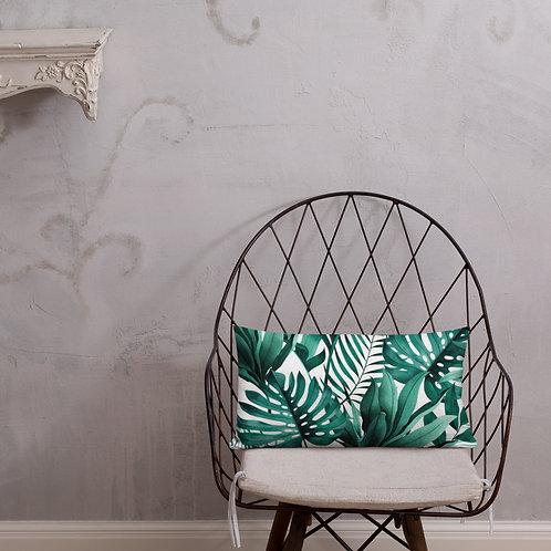 Premium Pillow - Palm Tree Leaf Style