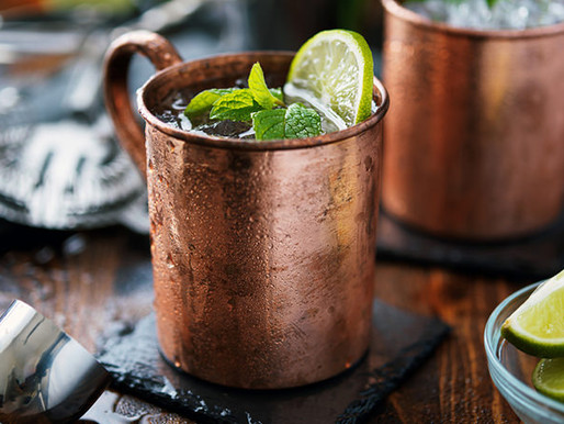 Skinny Ginger Moscow Mule + Mock-tail Recipe