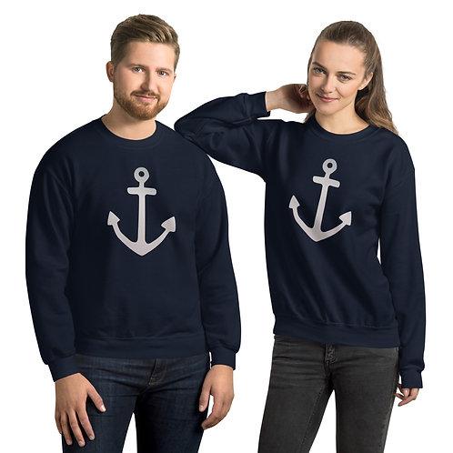 Unisex Anchor Crewneck Sweatshirt