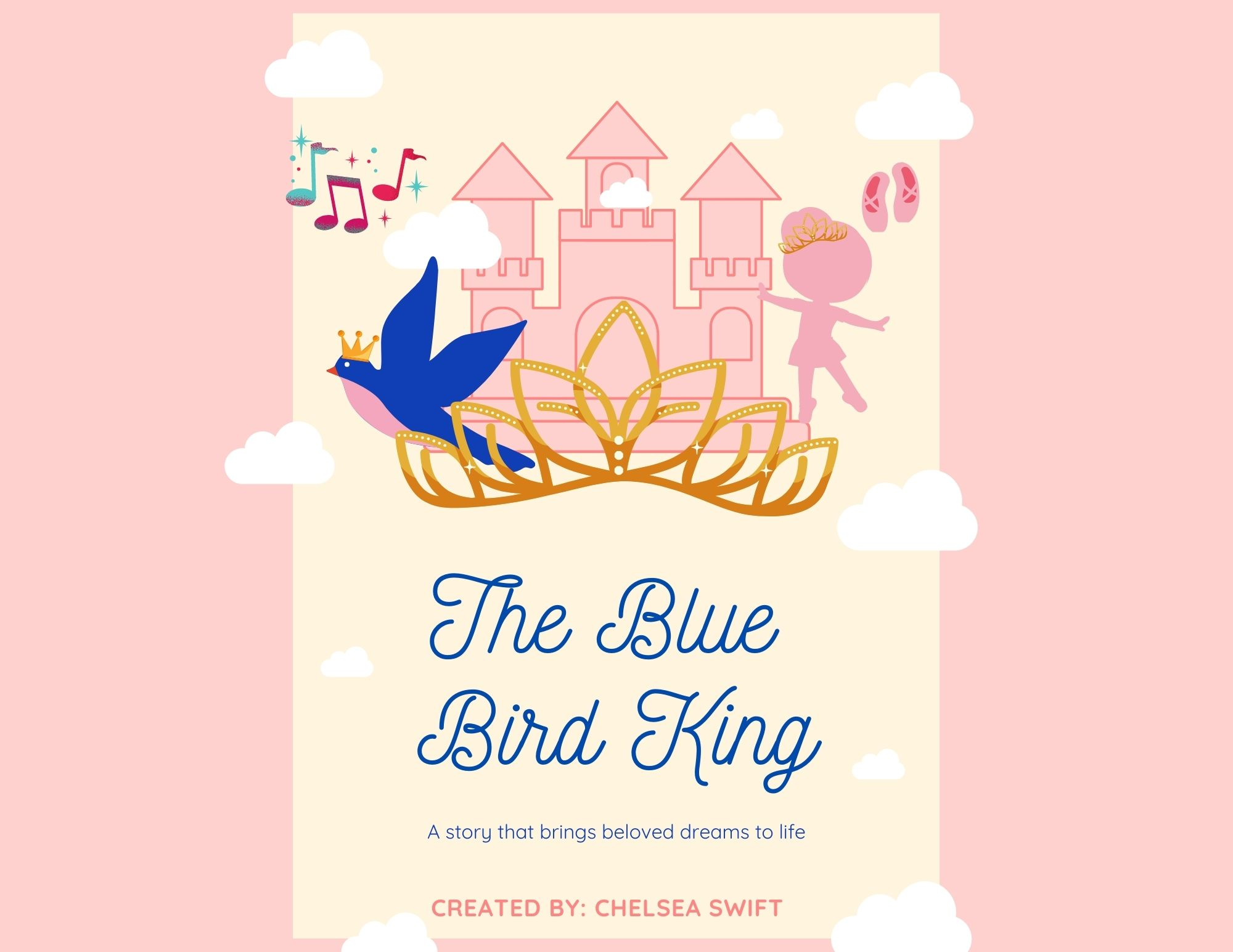 The Blue Bird King - Interactive Children's Book