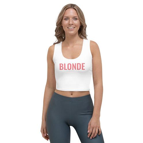 Blonde Crop Top