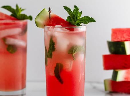Skinny Watermelon Mojito