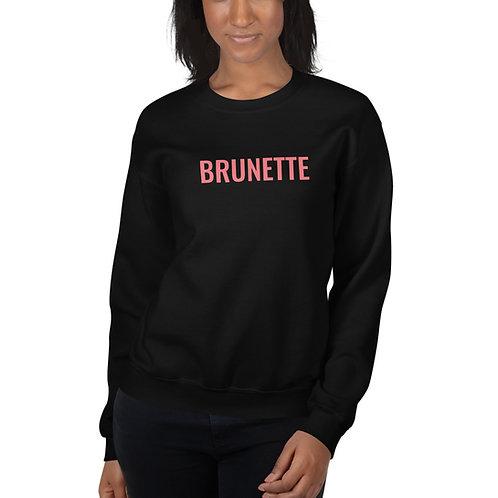 Brunette Unisex Crew Neck Sweatshirt
