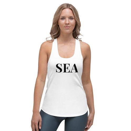 """Women's """"SEA"""" Racerback Tank"""
