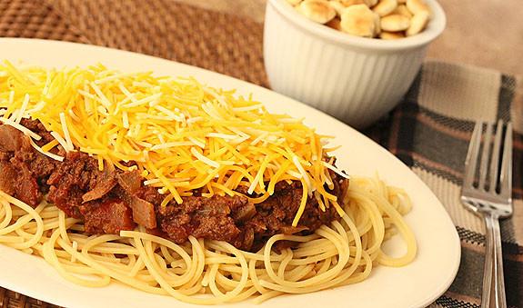 Cincinnati Style Chili...