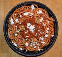 Red Pesto Bucatini