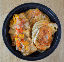 Sweet Pepper Relish Tofu with Cabbage St
