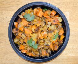 Moroccan Style Sweet Potato Eggplant