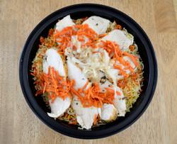 Rosemary ChickenSaffron Carrot Rice