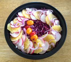 Citrus Cabbage Salad